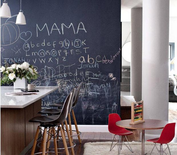 Фотография: Кухня и столовая в стиле Лофт, Декор интерьера, Дизайн интерьера, Цвет в интерьере, Советы, Ремонт – фото на InMyRoom.ru
