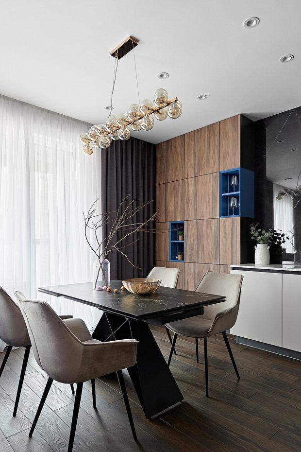 Фотография: Кухня и столовая в стиле Современный, Проект недели, Санкт-Петербург, 2 комнаты, 60-90 метров – фото на INMYROOM