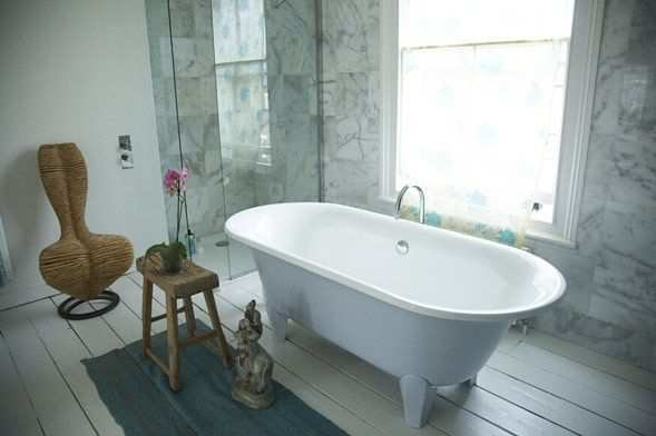 Фотография: Ванная в стиле , Дом, Дома и квартиры, Минимализм, Фьюжн, Пэчворк – фото на InMyRoom.ru