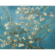 Картина (репродукция, постер): Branches with Almond Blossom, 1890 - Винсент Ван Гог