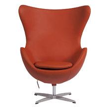 Кресло Egg Chair оранжевого цвета