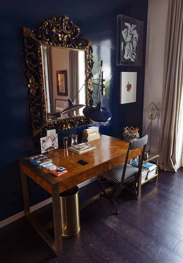Фотография: Мебель и свет в стиле Эклектика, Малогабаритная квартира, Интерьер комнат, Советы, Зеркала – фото на InMyRoom.ru
