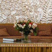 Фотография: Гостиная в стиле Кантри, Классический, Современный, Декор интерьера, Флористика, Декор, Декор дома, Марат Ка, Зимний сад – фото на InMyRoom.ru