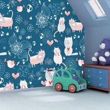 Фотография: Детская в стиле Современный, Спальня, Декор интерьера, Декор дома, Обои, Фотообои – фото на InMyRoom.ru