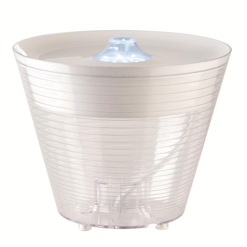Настольная лампа-контейнер Rotaliana Multipot белого цвета