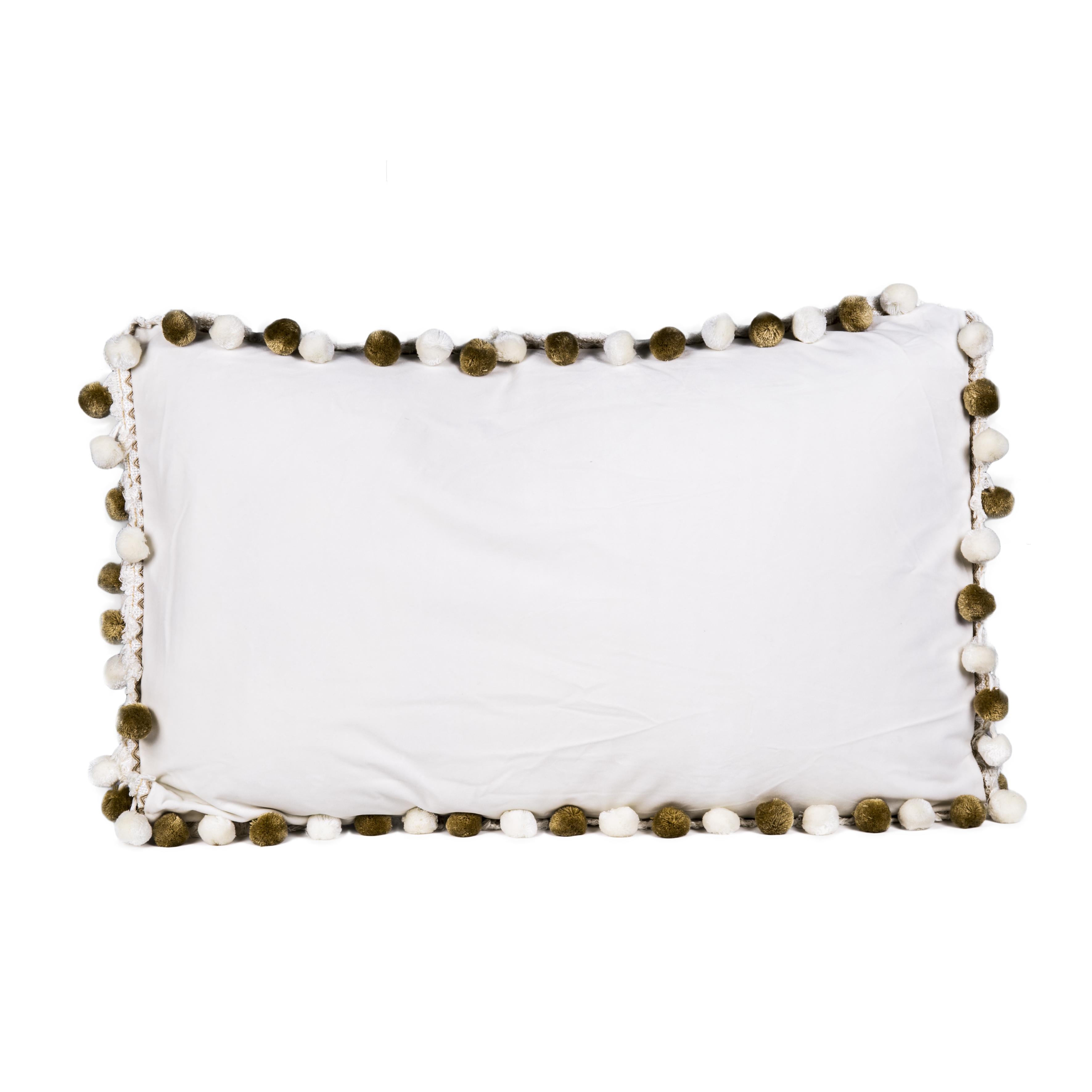 Декоративная подушка Milly с помпонами