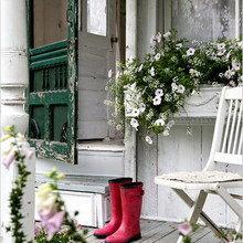Фотография: Терраса в стиле Кантри, Дом, Дома и квартиры, Городские места, Дача, Шебби-шик – фото на InMyRoom.ru