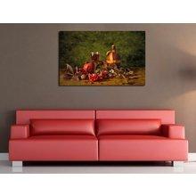 """Стильная картина для декора стен """"Гранат"""""""