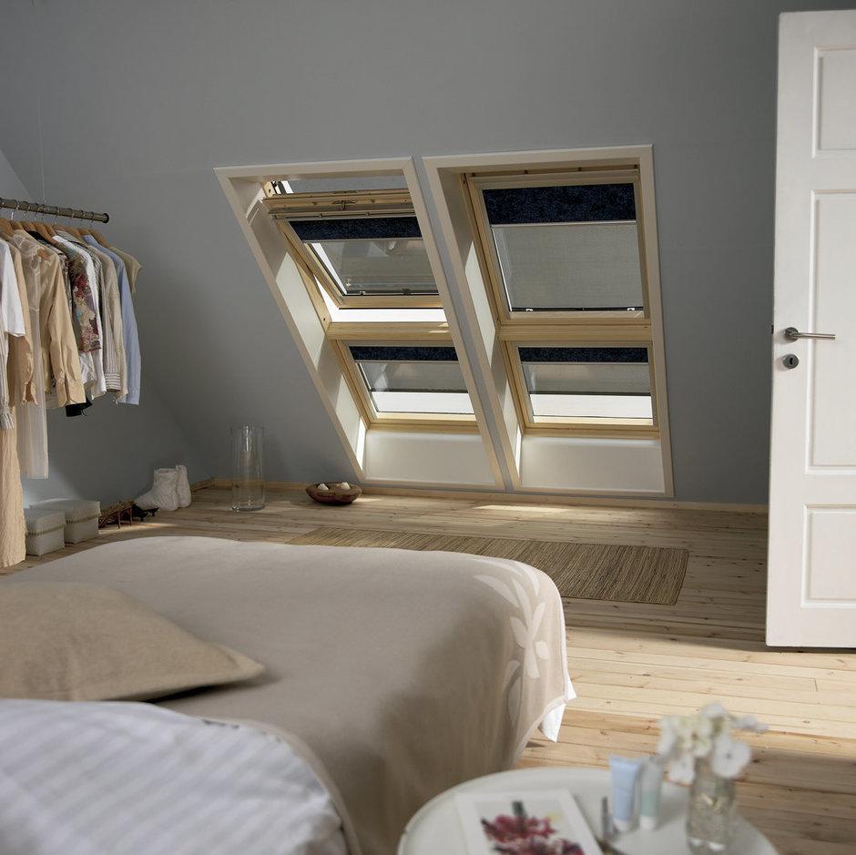 Фотография: Спальня в стиле Лофт, Дом, Дома и квартиры, Мансарда – фото на InMyRoom.ru