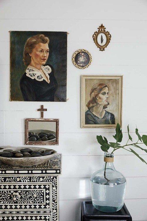 Фотография: Ванная в стиле Эклектика, Мебель и свет, Белый, Переделка, Дача – фото на InMyRoom.ru