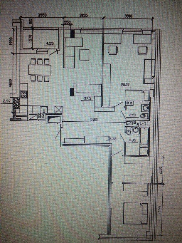 Помогите спланировать кухню-гостиную с учетом несущих колонн