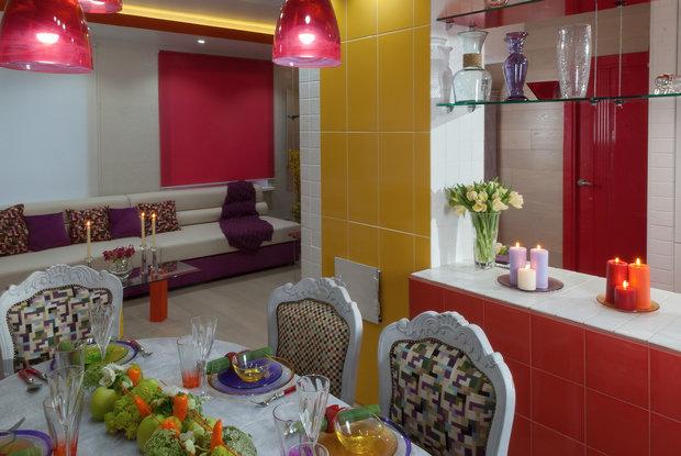 Фотография: Кухня и столовая в стиле Эклектика, Дом, Дома и квартиры – фото на InMyRoom.ru