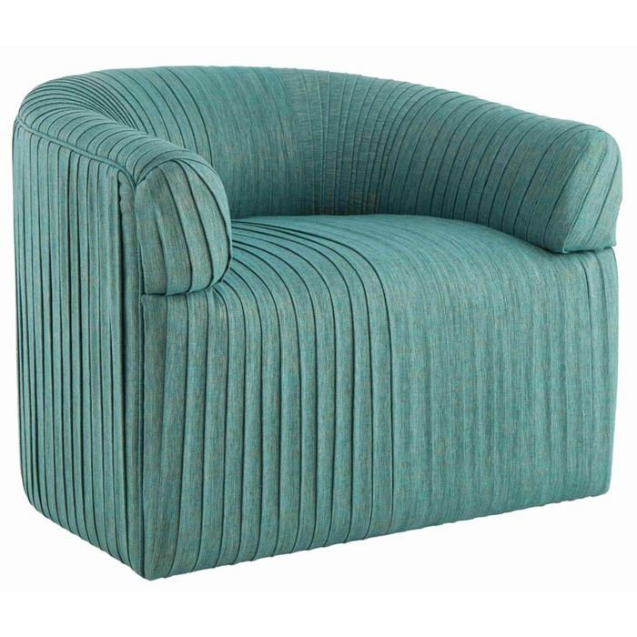 Кресло в бирюзовое отделке