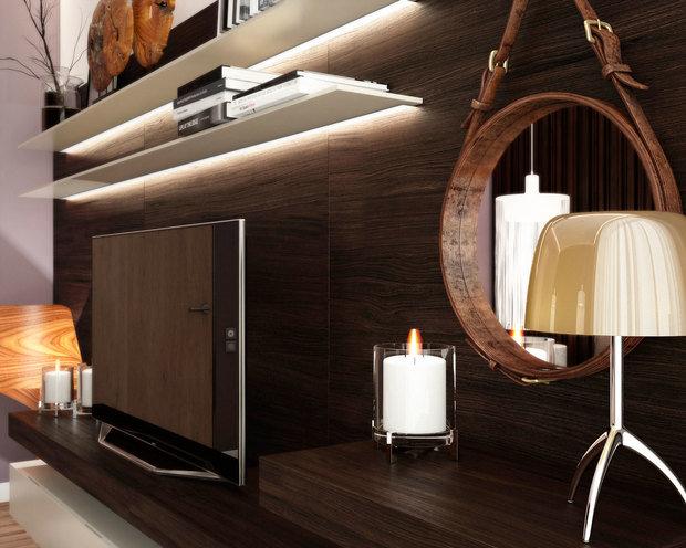 Фото из портфолио Дизайн-проект квартиры 58 м2 – фотографии дизайна интерьеров на INMYROOM