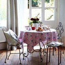 Фотография: Кухня и столовая в стиле Кантри, Скандинавский, Интерьер комнат, Обеденная зона – фото на InMyRoom.ru