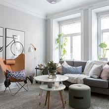 Фотография: Гостиная в стиле Скандинавский, Декор интерьера, Квартира, Швеция, Советы – фото на InMyRoom.ru