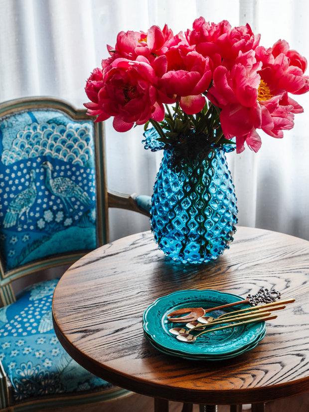 Фотография: Кухня и столовая в стиле Эклектика, Квартира, Проект недели, Москва, Надя Зотова, Кирпичный дом, 2 комнаты, 40-60 метров, студия Enjoy Home – фото на INMYROOM