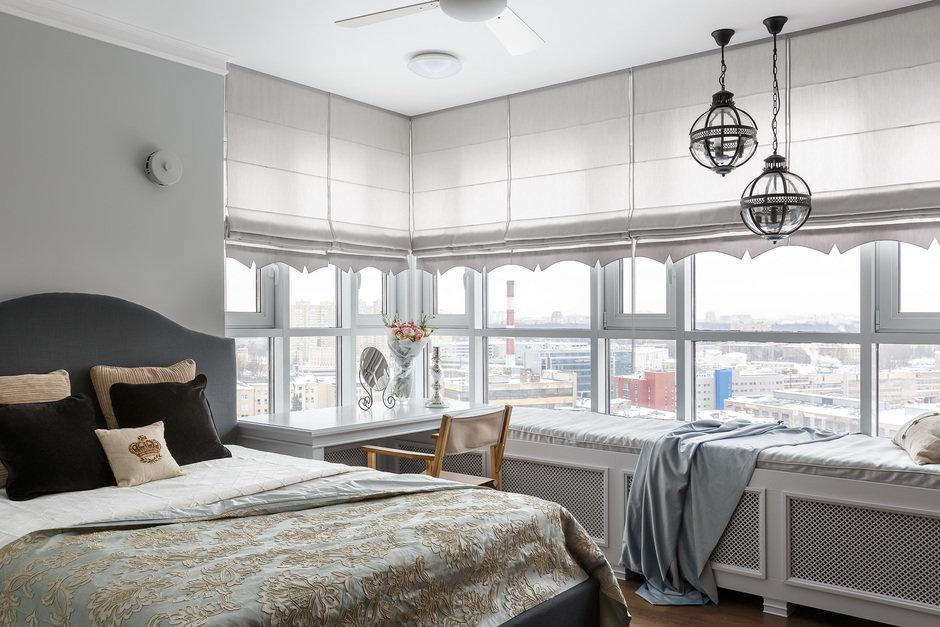 Фотография: Спальня в стиле Классический, Квартира, Проект недели, Санкт-Петербург, Монолитный дом, 4 и больше, Более 90 метров, Дизайн-Холл – фото на InMyRoom.ru
