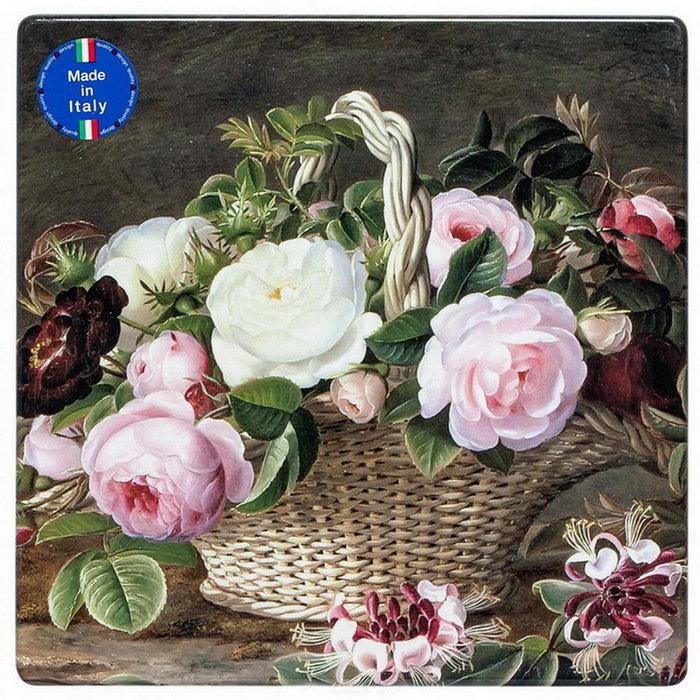 Поднос малый Английские розы