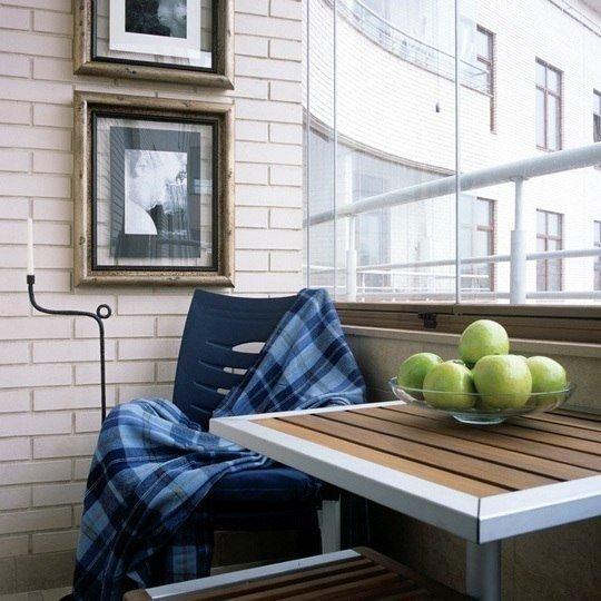 Фото из портфолио Идеи для балкона – фотографии дизайна интерьеров на INMYROOM