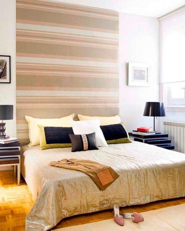 Фотография: Спальня в стиле Восточный, Декор интерьера, DIY, Обои – фото на InMyRoom.ru