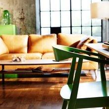 Фотография: Гостиная в стиле Современный, Текстиль, Индустрия, Новости, IKEA, Ткани, Мягкая мебель, Светильники, Ваза, Стокгольм – фото на InMyRoom.ru