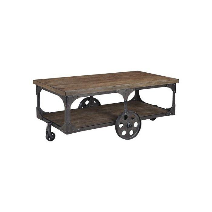 Журнальный столик на колесиках Rustic Accents T500-721