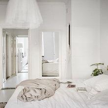 Фотография: Спальня в стиле Скандинавский, Декор интерьера, Квартира – фото на InMyRoom.ru