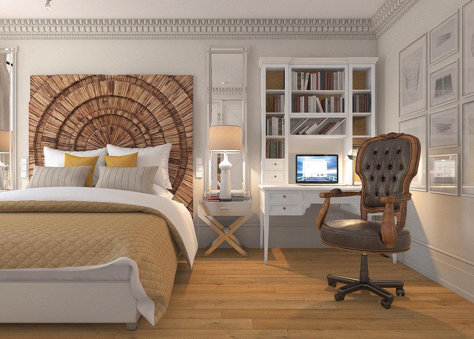 Фотография: Спальня в стиле Современный, Лофт, Квартира, Дома и квартиры – фото на InMyRoom.ru