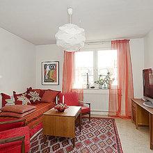 Фотография: Гостиная в стиле Скандинавский, Квартира, Швеция, Дома и квартиры – фото на InMyRoom.ru