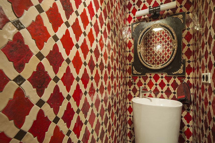 Фотография: Ванная, Прочее в стиле Прованс и Кантри, Эклектика, Квартира, Дома и квартиры, Проект недели – фото на InMyRoom.ru