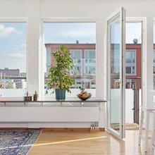 Фото из портфолио Квартира с прекрасным панорамным видом – фотографии дизайна интерьеров на InMyRoom.ru