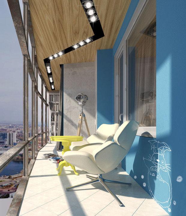 Фотография: Балкон в стиле Лофт, Современный, Эклектика, Эко, Скандинавский, Минимализм, Проект недели – фото на INMYROOM