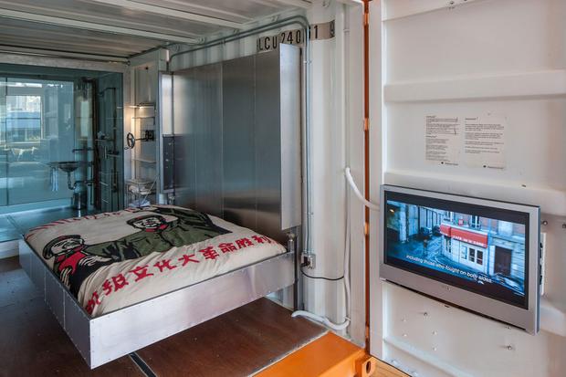 Фотография: Спальня в стиле Современный, Лофт, Квартира, Дома и квартиры, Проект недели, Футуризм, Потолок – фото на InMyRoom.ru