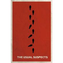 Картина (репродукция, постер): Подозрительные лица (The usual suspects), 1995