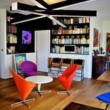 Фотография: Гостиная в стиле Лофт, Современный, Франция, Дома и квартиры, Городские места, Отель – фото на InMyRoom.ru