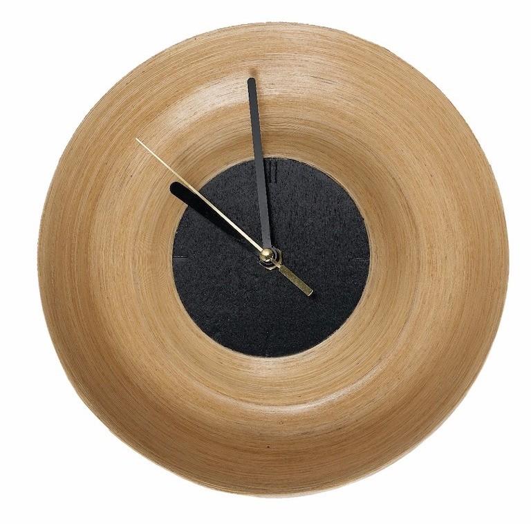 Купить со скидкой Настенные часы кварцевые Clo из натурального дерева и пластика