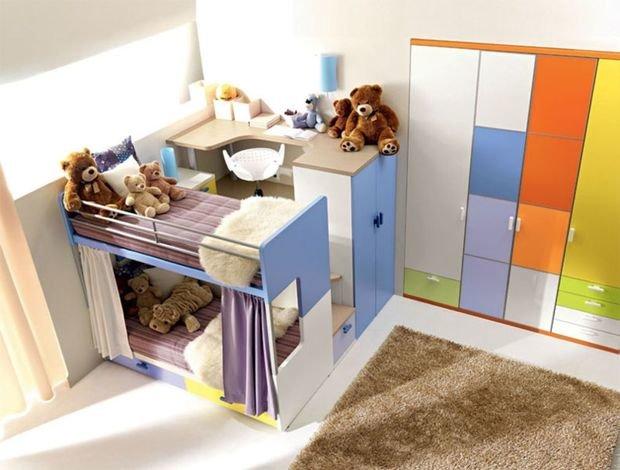 Фотография:  в стиле , Детская, Малогабаритная квартира, Советы – фото на InMyRoom.ru