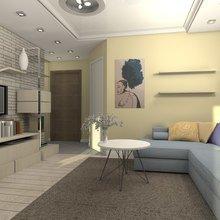Фото из портфолио Однушка 36 кв м – фотографии дизайна интерьеров на INMYROOM