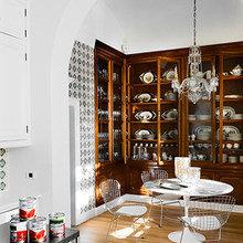 Фотография: Кухня и столовая в стиле Кантри, Классический, Скандинавский, Современный, Эклектика – фото на InMyRoom.ru