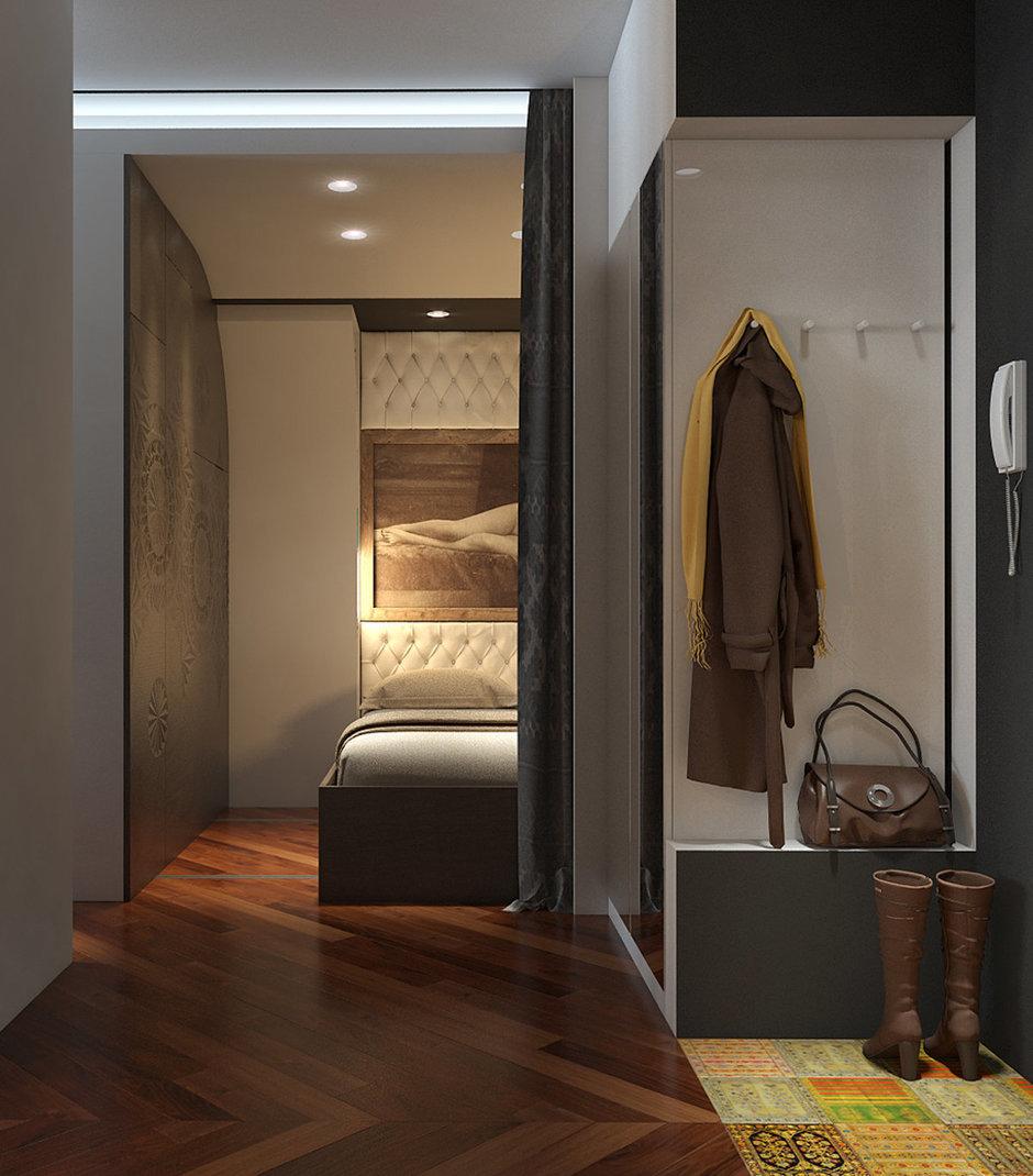 Фотография: Прихожая в стиле Эклектика, Квартира, Дома и квартиры, Проект недели – фото на InMyRoom.ru