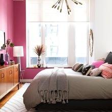 Фотография: Спальня в стиле Современный, Декор интерьера, Дизайн интерьера, Цвет в интерьере – фото на InMyRoom.ru