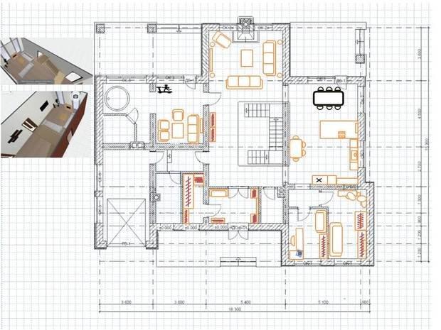 помогите выбрать лучшее месторасположение камина в гостиной