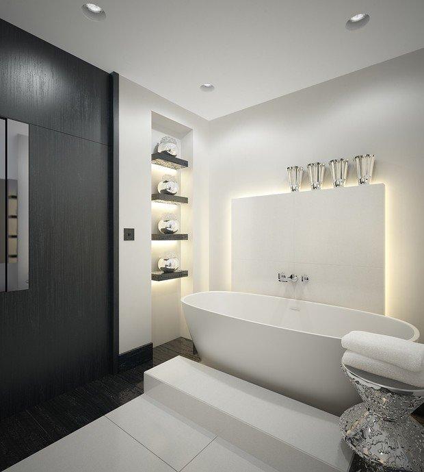 Фотография: Ванная в стиле Хай-тек, Стиль жизни, Советы – фото на InMyRoom.ru
