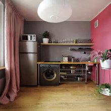 Фотография: Кухня и столовая в стиле Современный, DIY, Малогабаритная квартира, Квартира, Дома и квартиры, Переделка – фото на InMyRoom.ru