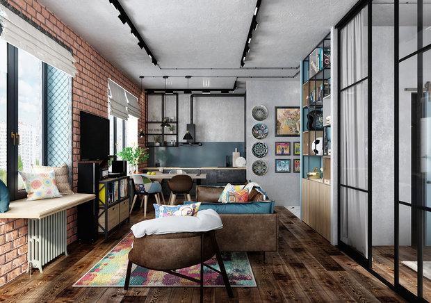 Фото из портфолио 59 м² ЖК Царская площадь – фотографии дизайна интерьеров на INMYROOM