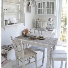 Фотография: Кухня и столовая в стиле Кантри, Скандинавский, Интерьер комнат, Шебби-шик – фото на InMyRoom.ru