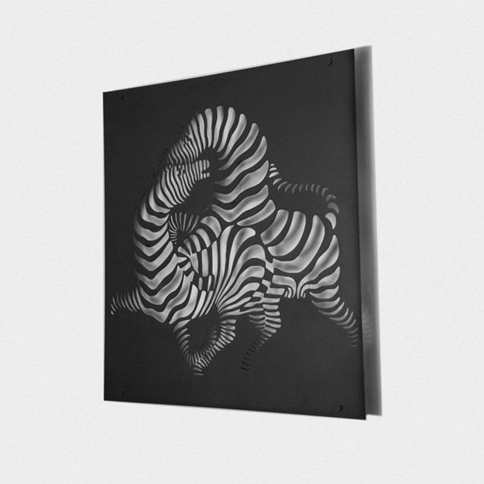 Инсталляция Zebras