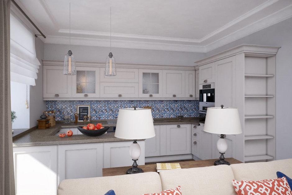 Фотография: Кухня и столовая в стиле Прованс и Кантри, Квартира, Проект недели, Санкт-Петербург, Светлана Гаврилова – фото на InMyRoom.ru