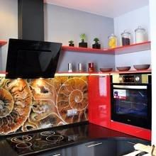 Фото из портфолио Кухонные фартуки (скинали) – фотографии дизайна интерьеров на INMYROOM
